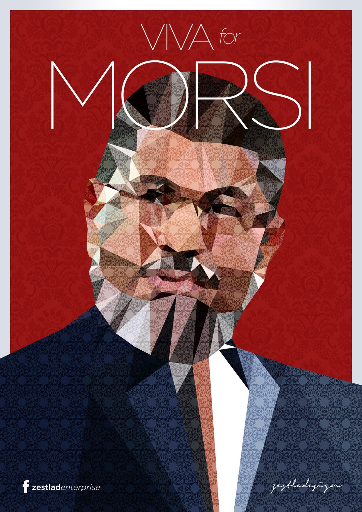 morsi__presiden_of_egypt__by_zestladesign-d6el7ux